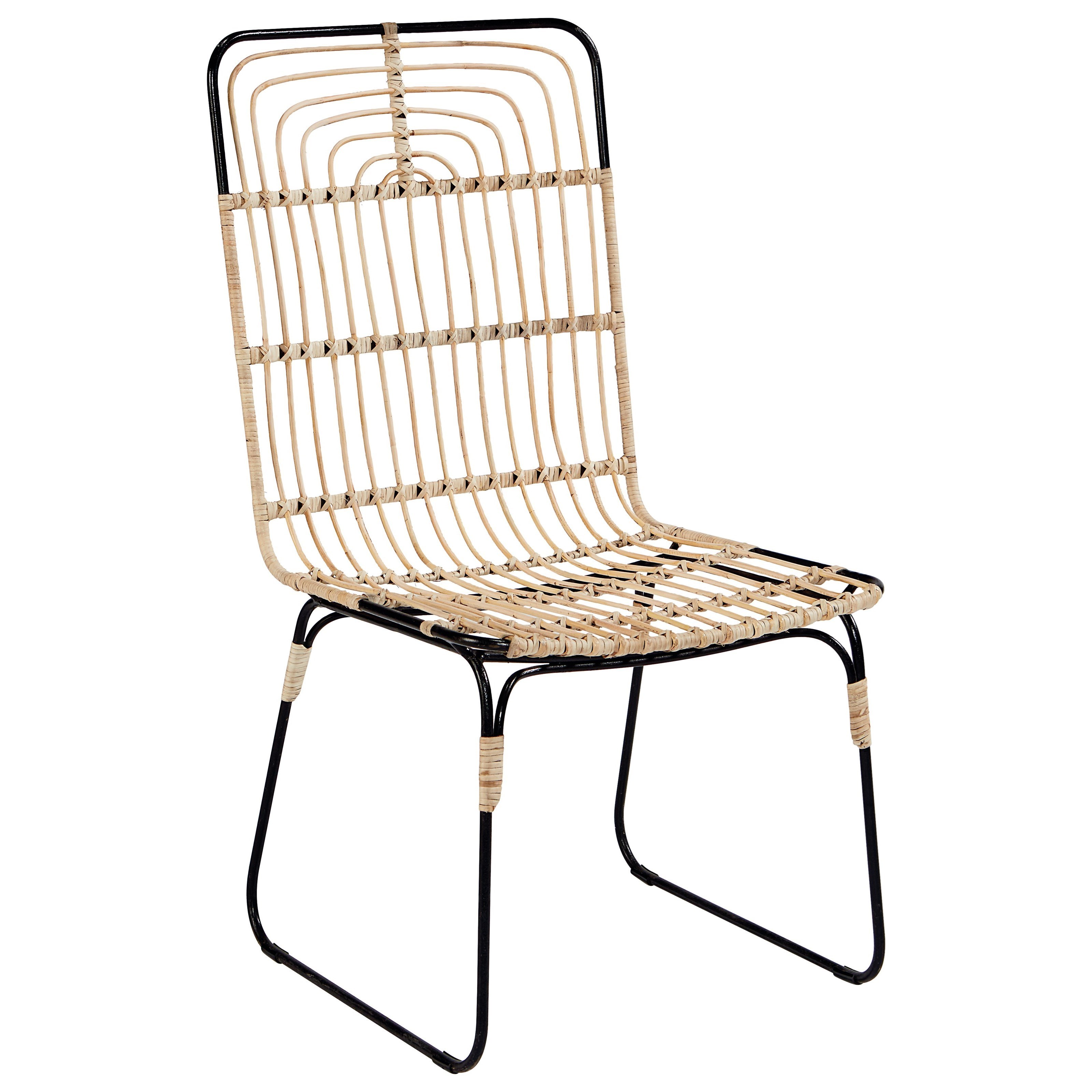 Delicieux Magnolia Home By Joanna Gaines Boho Entwine Rattan Side Chair