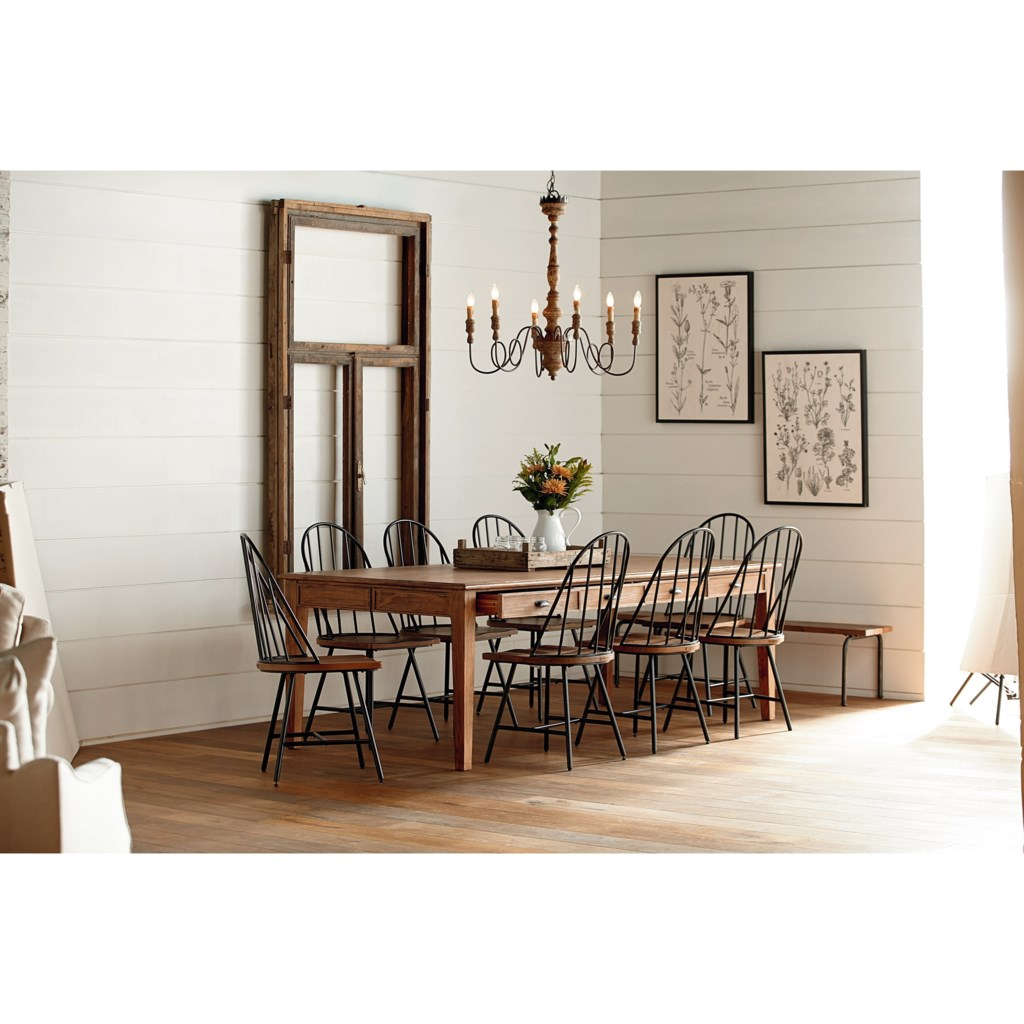 magnolia homejoanna gaines farmhouse 10 piece dining set with