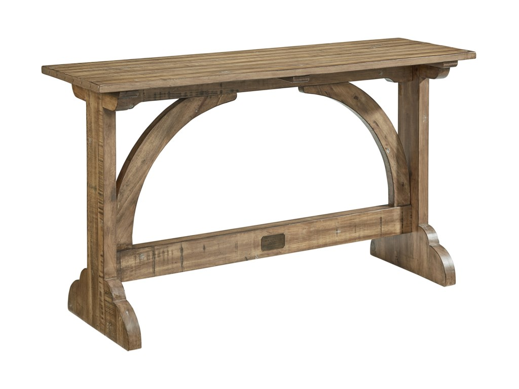 Magnolia Home By Joanna Gaines Farmhouse Carrel Vault Console Table