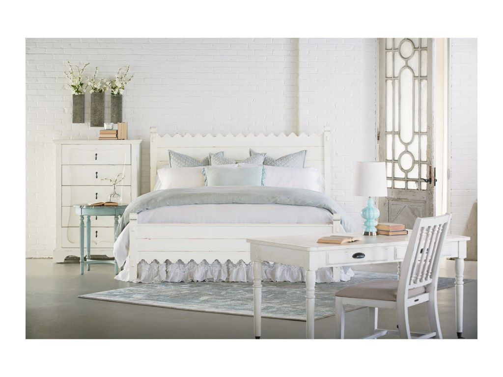 Magnolia Home By Joanna Gaines FarmhouseQueen Scallop Bed