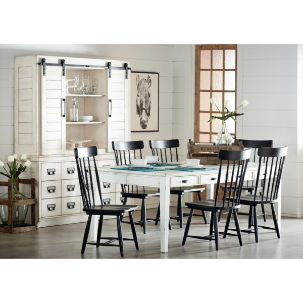Magnolia home by joanna gaines farmhouse kitchen dining group