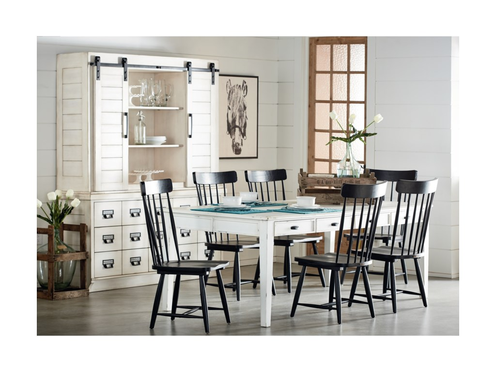 Farmhouse Kitchen Dining Group By Magnolia Home Joanna Gaines