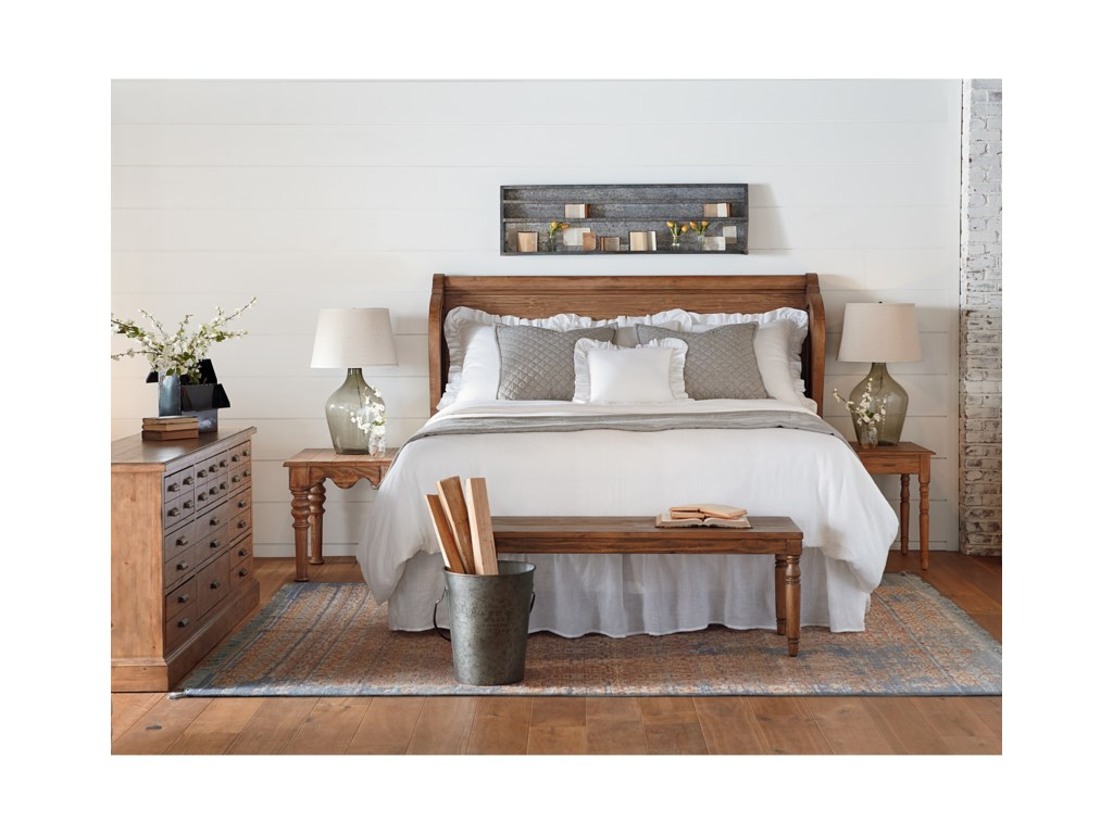 magnolia home by joanna gaines farmhouseking bedroom group - Joanna Gaines Bedroom