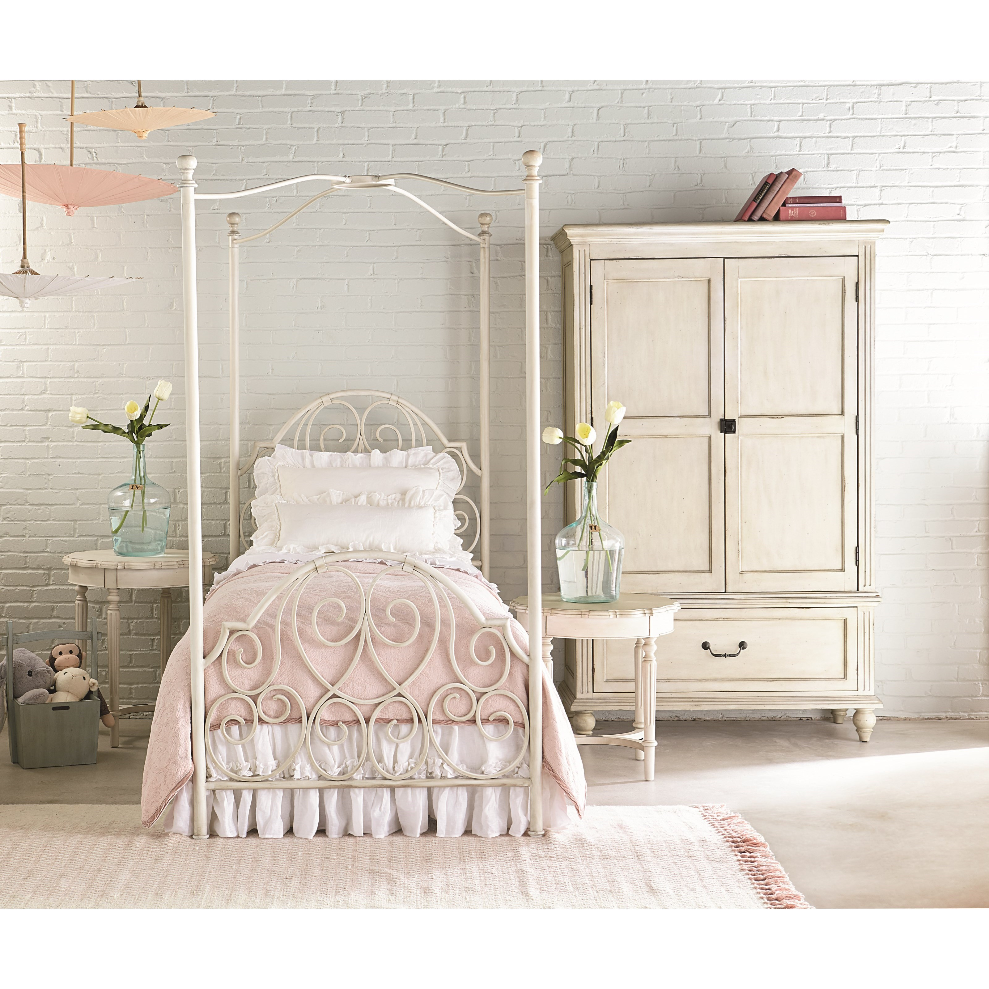 Magnolia Home By Joanna Gaines French InspiredTwin Bedroom Group ...