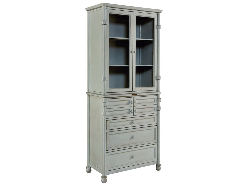 Magnolia Home by Joanna Gaines IndustrialMetal Dispensary Cabinet