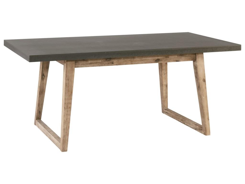 Magnolia home by joanna gaines industrialhiatus concrete top table