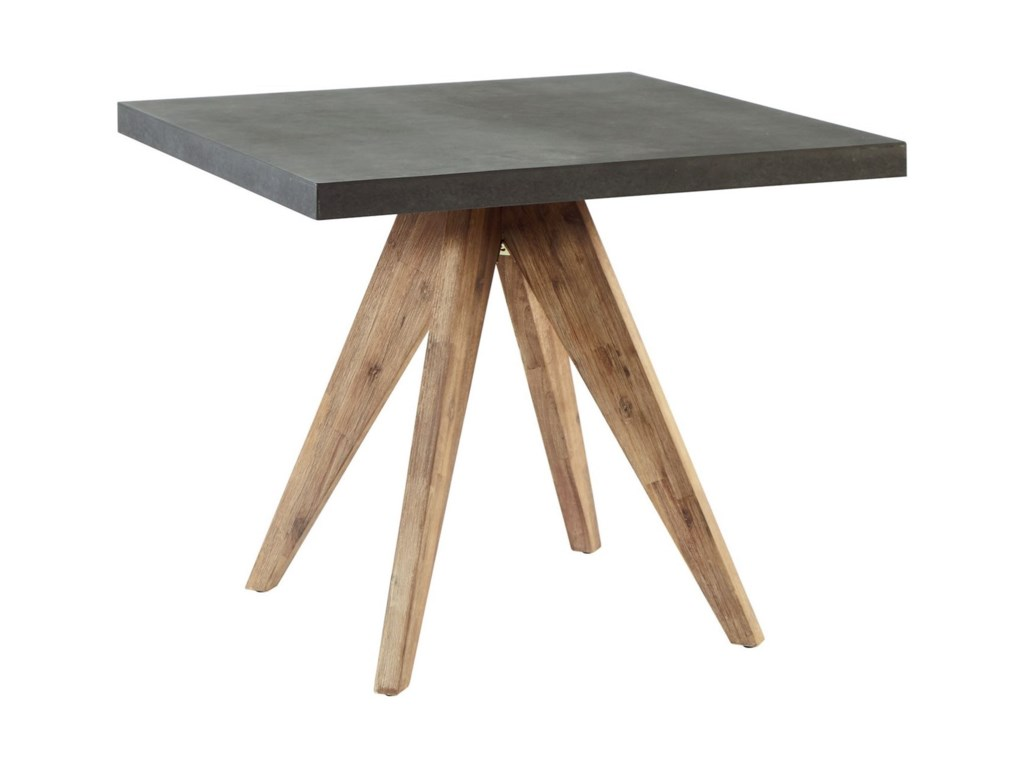 6bbb99bacead Industrial Array Square Dining Table by Magnolia Home by Joanna Gaines
