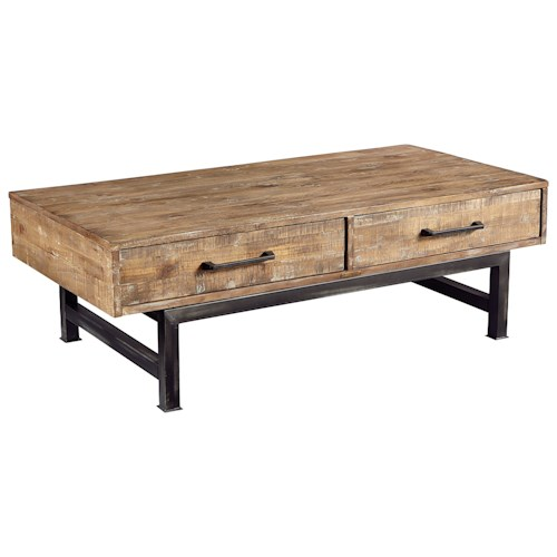 Industrial Coffee Table Images: Magnolia Home By Joanna Gaines Industrial Pier And Beam