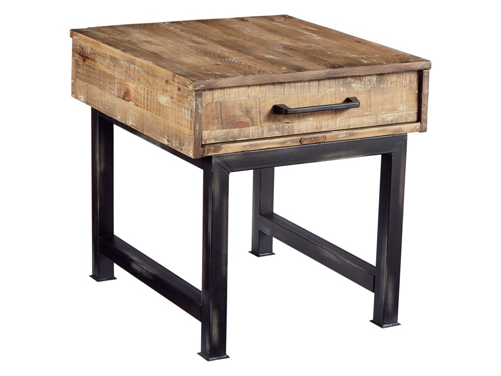 Magnolia Home by Joanna Gaines IndustrialEnd Table