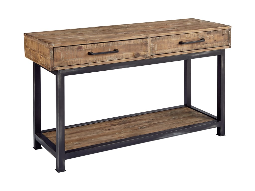 Magnolia Home by Joanna Gaines IndustrialConsole Table