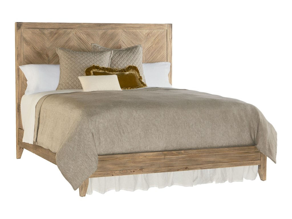 new concept c0293 1dfb8 Industrial Herringbone King Bed by Magnolia Home by Joanna Gaines at  Fashion Furniture