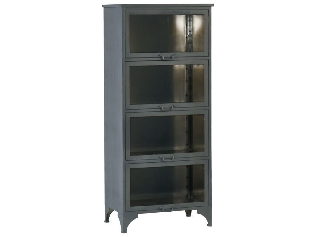 Magnolia Home By Joanna Gaines Industrial Case Metal Cabinet With