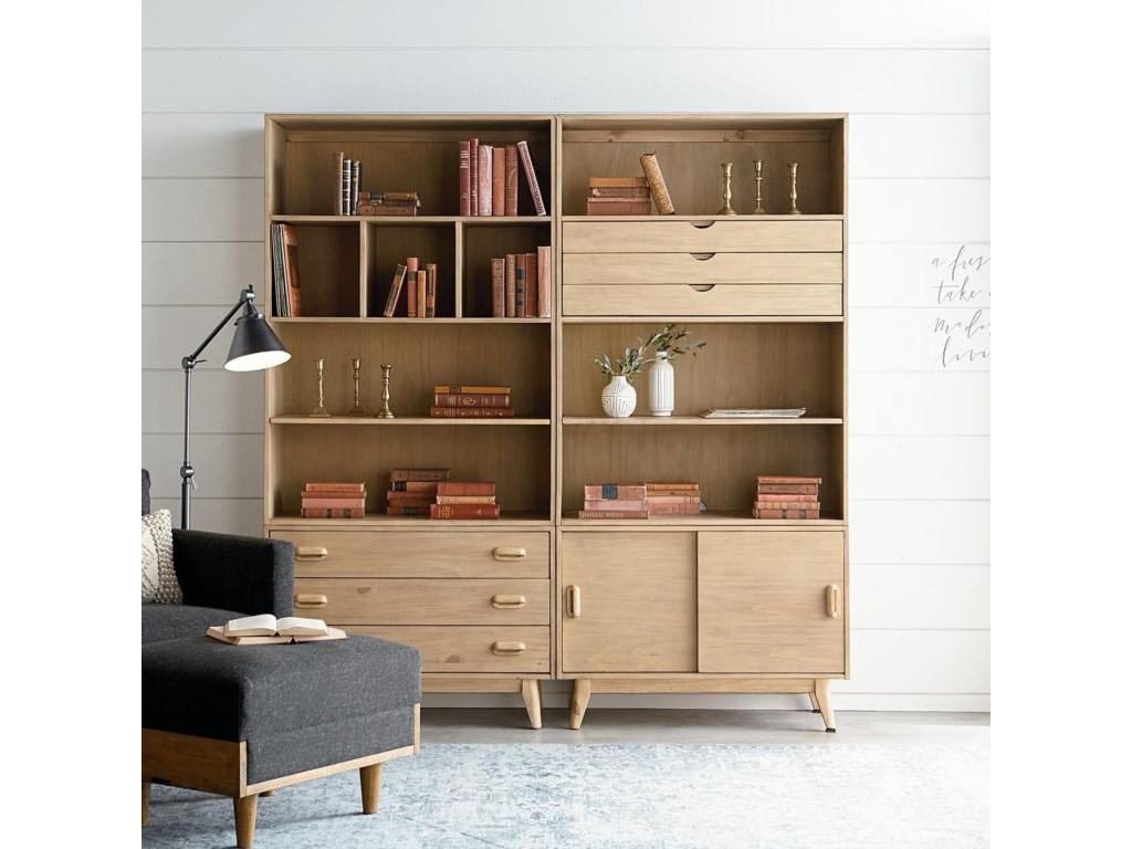 Magnolia Home By Joanna Gaines ModernLarge Bookcase