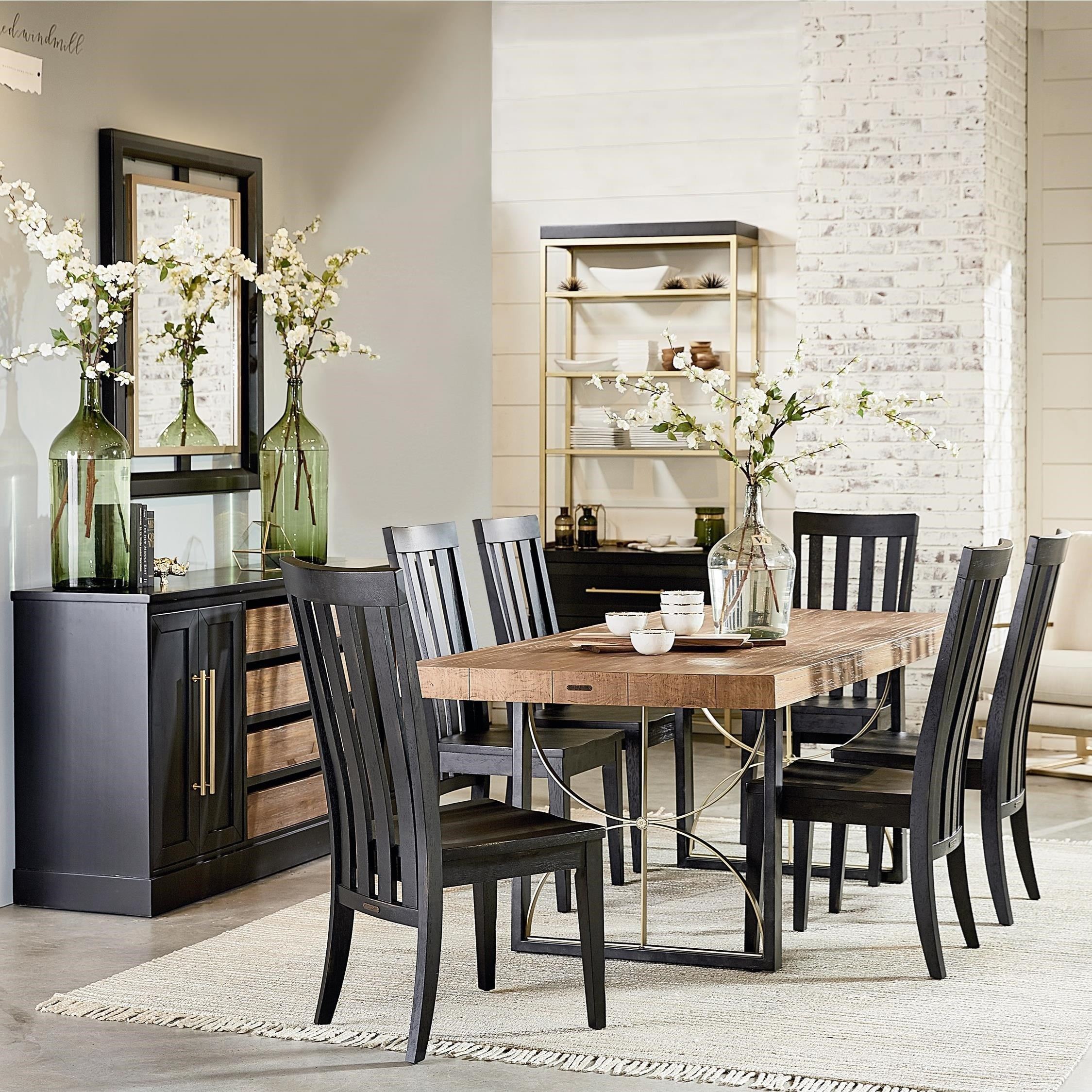 Attractive Magnolia Home By Joanna Gaines Modern6u0027 Dining Room Group ...