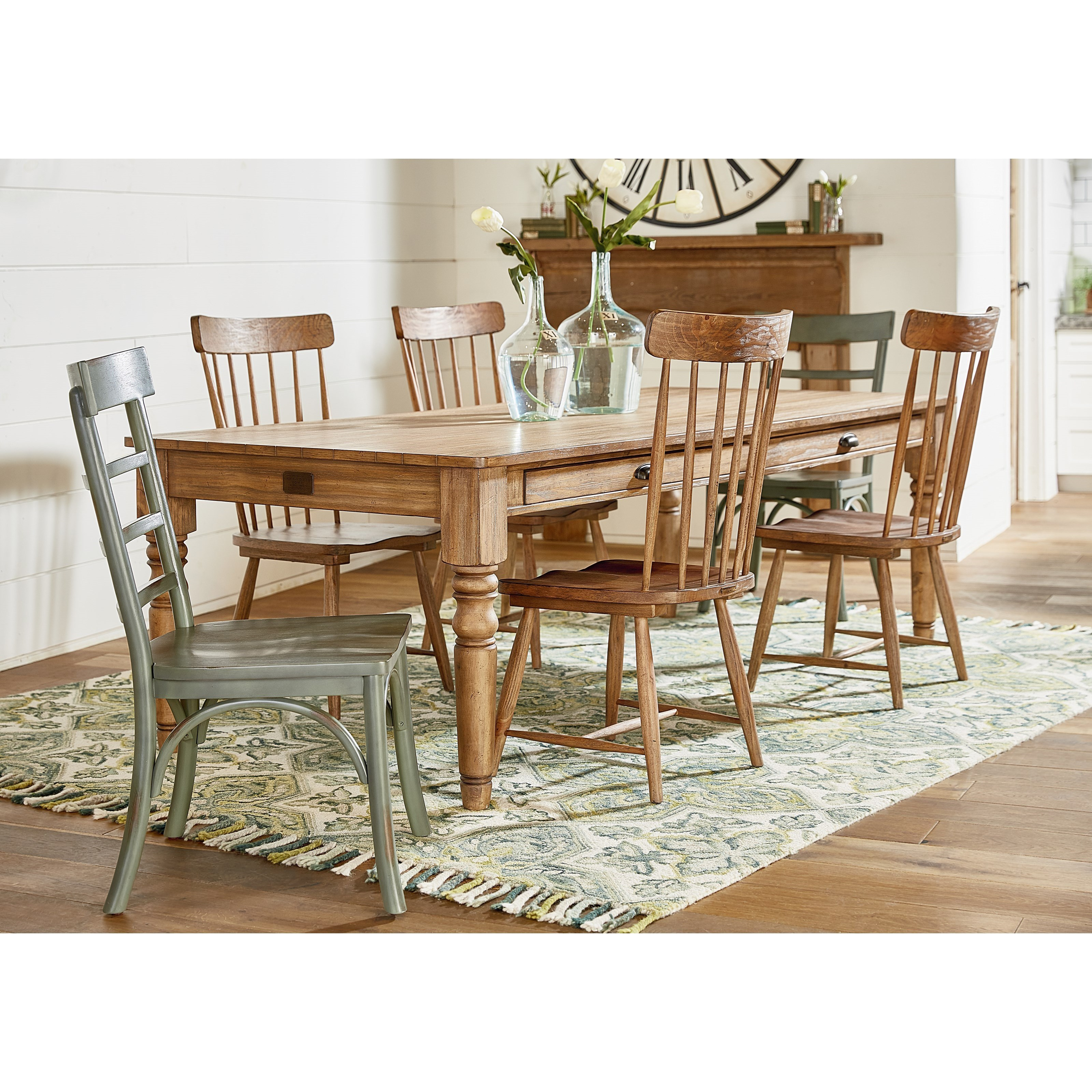 Merveilleux Magnolia Home By Joanna Gaines PrimitiveTable And Chair Set ...