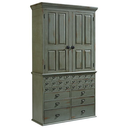 Magnolia Home by Joanna Gaines PrimitiveArmoire ...  sc 1 st  Olindeu0027s Furniture & Magnolia Home by Joanna Gaines Primitive File Cabinet Armoire with ...