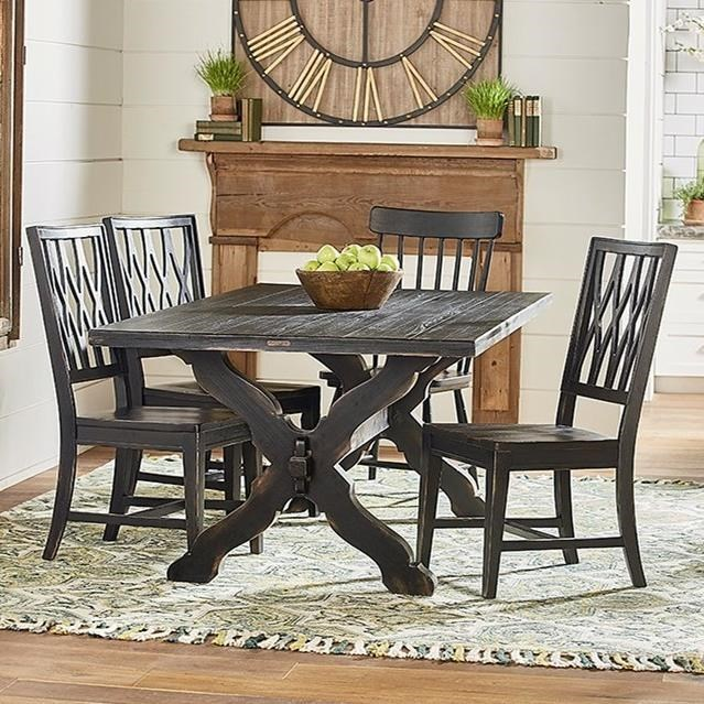 Magnolia Home By Joanna Gaines PrimitiveTable And Chair Set ...