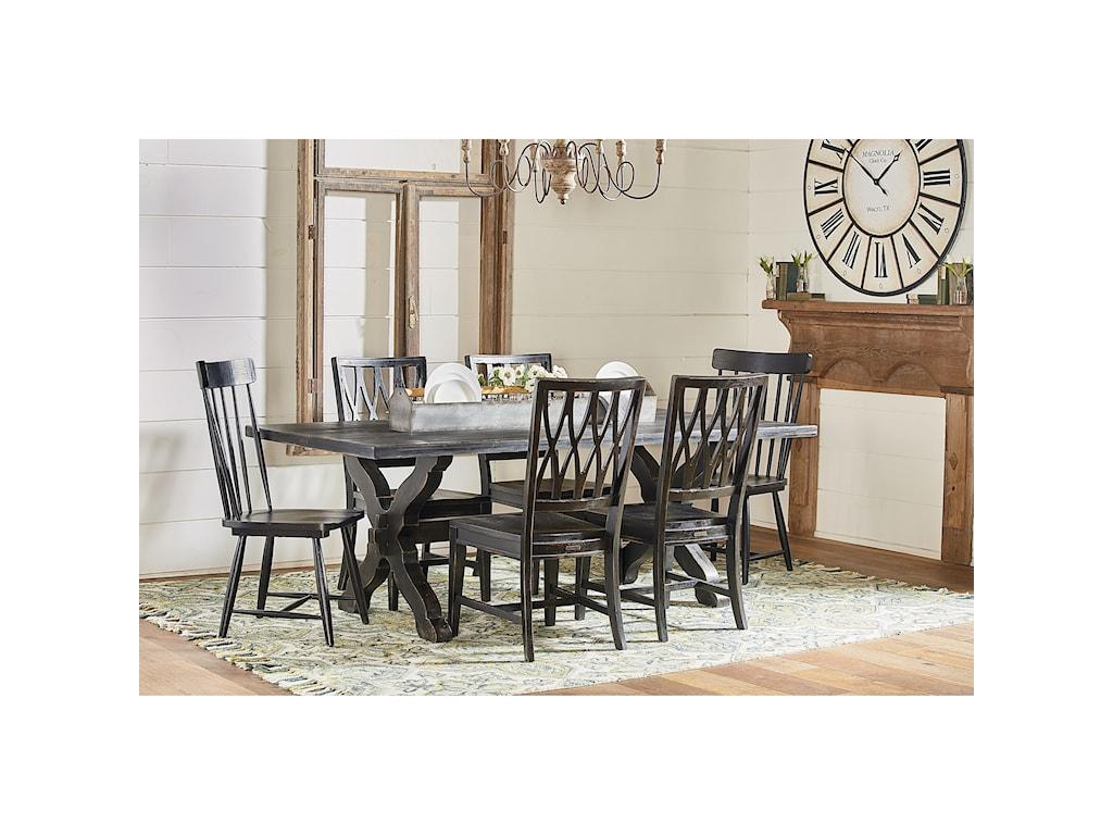 Magnolia Home by Joanna Gaines PrimitiveTrestle Table