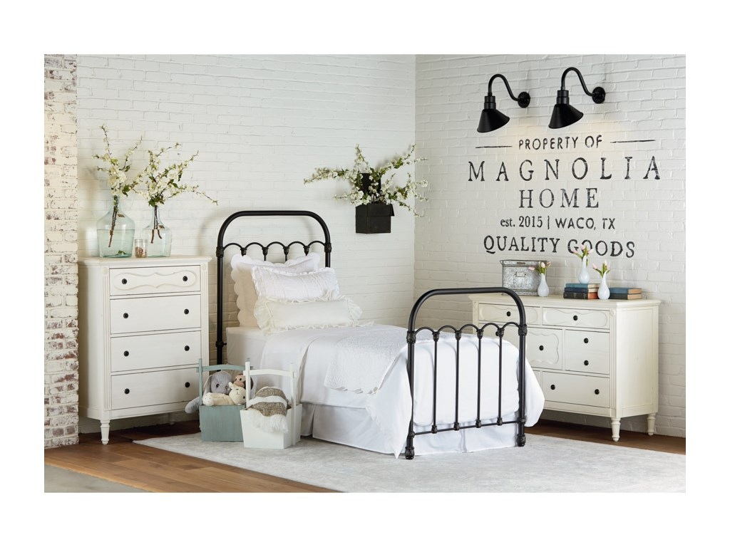 magnolia home by joanna gaines primitivefull bedroom group - Joanna Gaines Bedroom