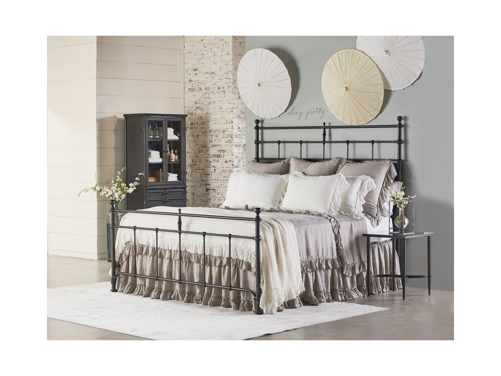 magnolia home by joanna gaines traditionalqueen bedroom group - Joanna Gaines Bedroom