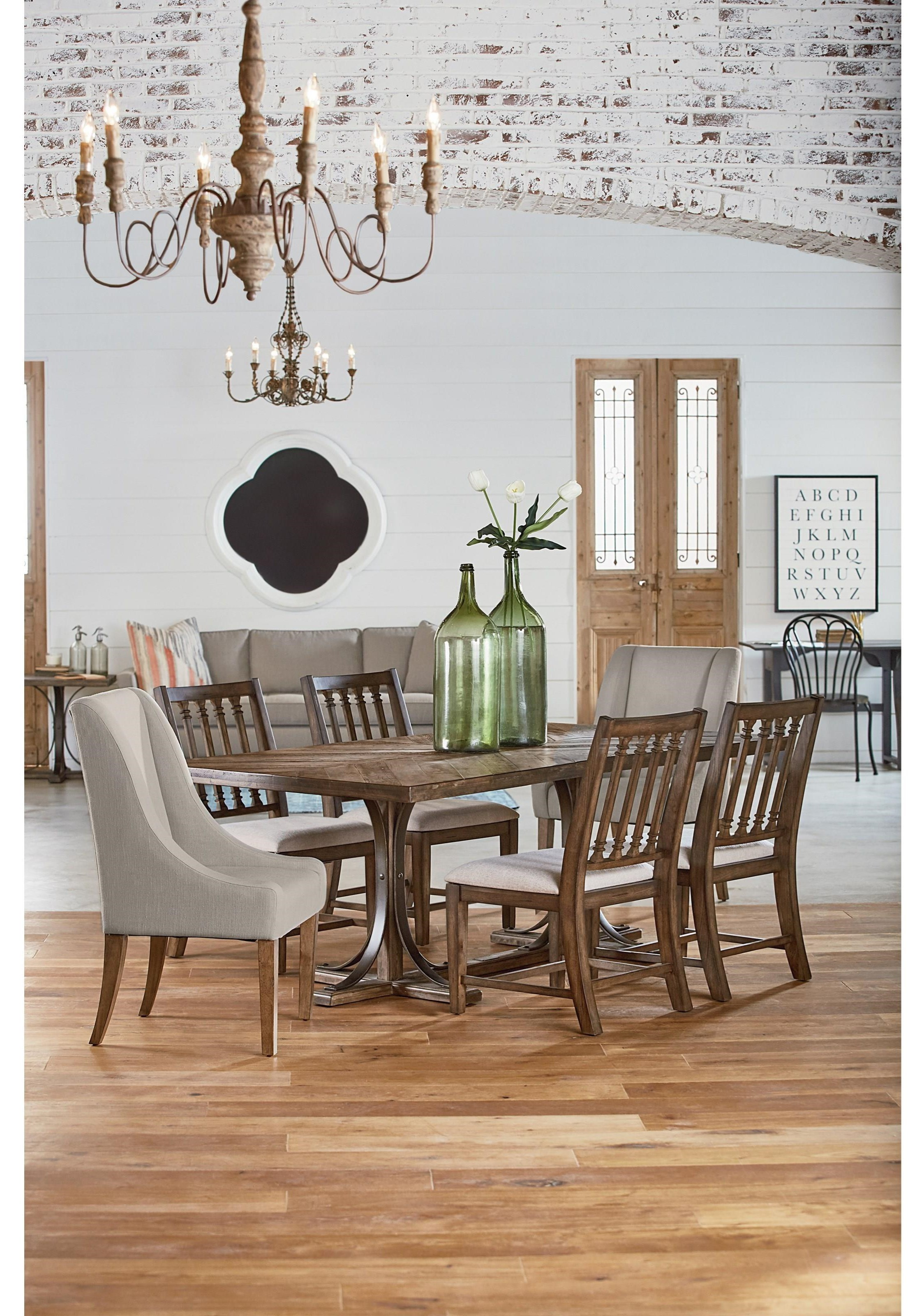 traditional wood dining tables.  Tables Magnolia Home By Joanna Gaines Traditional5 Piece Dining Set Intended Traditional Wood Tables