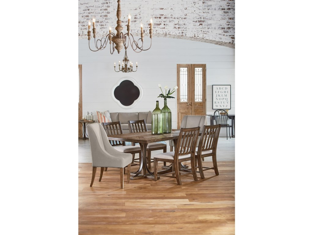 Magnolia Home By Joanna Gaines Traditional5 Piece Dining Set