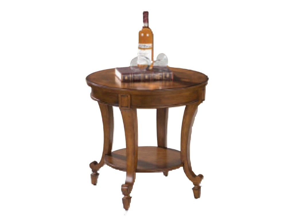 Magnussen Home AidanRound End Table