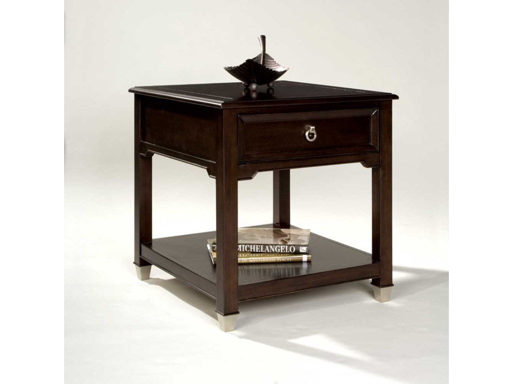 Magnussen Home DarienRectangular End Table