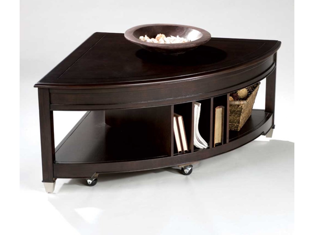 Magnussen Home DarienPie Shaped Lift Top Cocktail Table