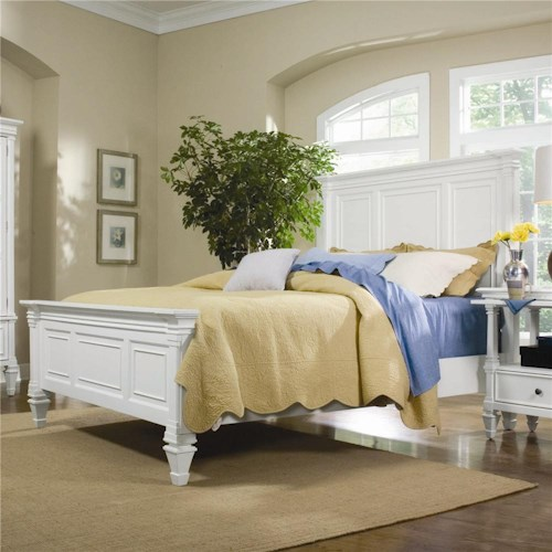 Magnussen Home Ashby California King Panel Bed