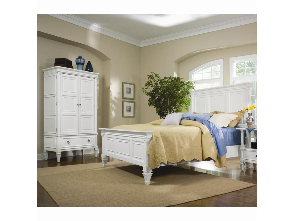 Magnussen Home AshbyKing Panel Bed