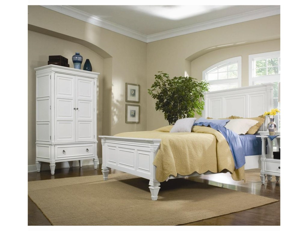 Shown with Armoire - Bed Shown May Not Represent Size Indicated