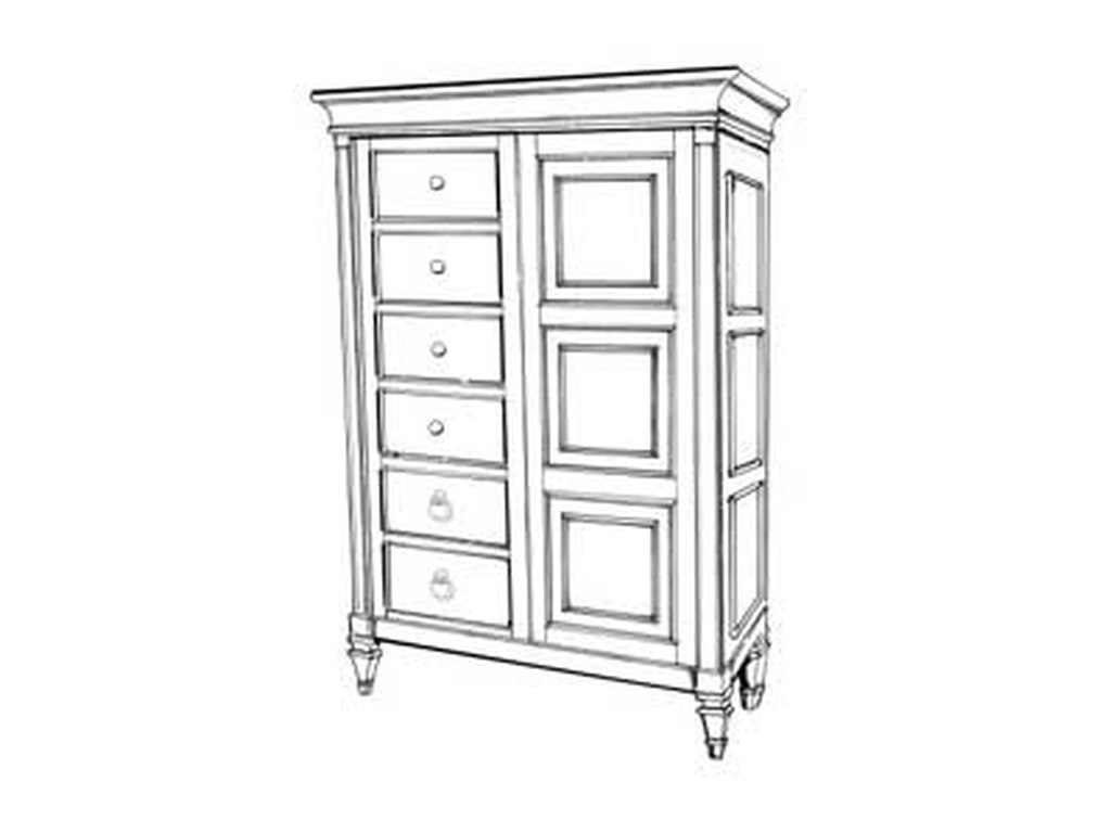 Magnussen Home AshbyDrawer Chest