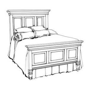 Magnussen Home AshbyQueen Panel Bed