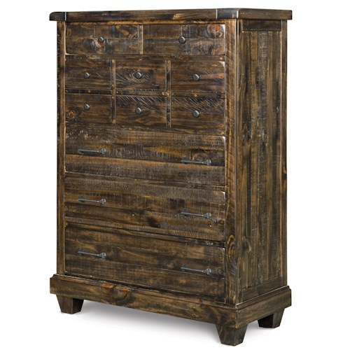 Magnussen Home  Brenley 5-Drawer Soild Pine Chest