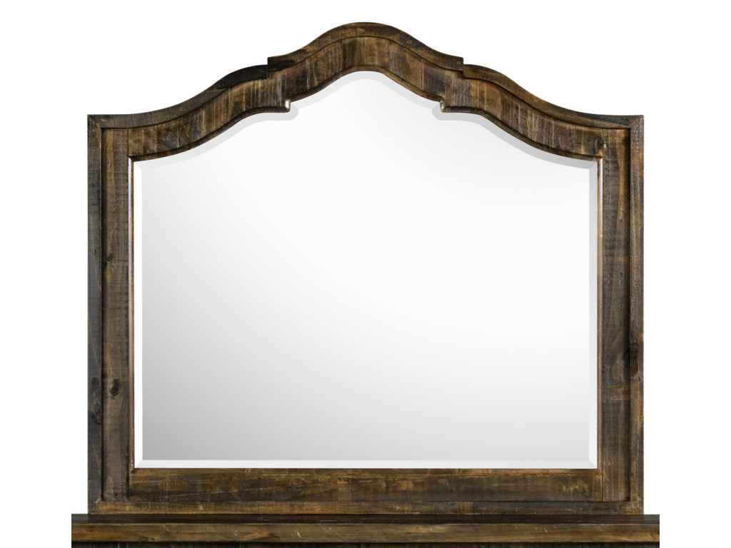 Magnussen Home  BrenleyShaped Mirror