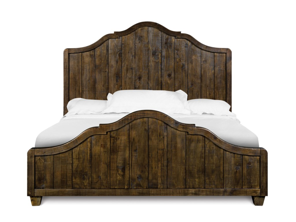 Magnussen Home  BrenleyCalifornia King Panel Bed