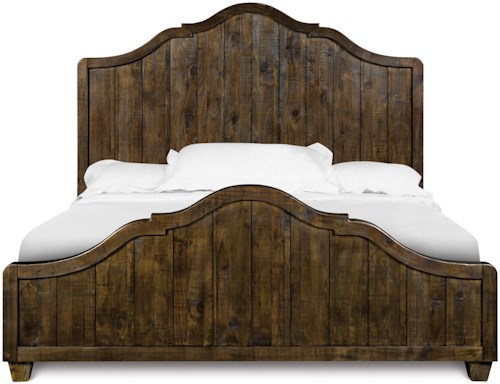 Magnussen Home  Brenley Cottage Style Queen Panel Bed