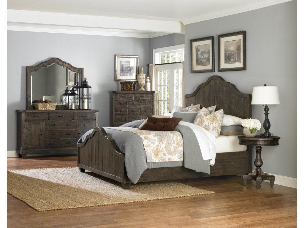 Magnussen Home  BrenleyQueen Panel Bed