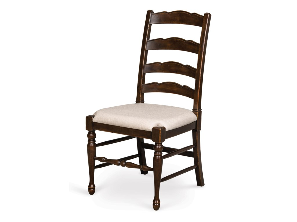 Magnussen Home  LorenDining Chair with Upholstered Seat (2/ctn)