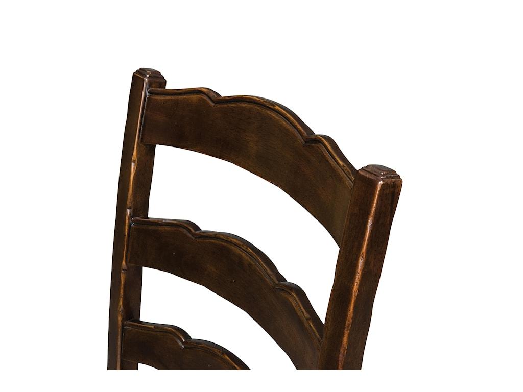Ladder Chair Back