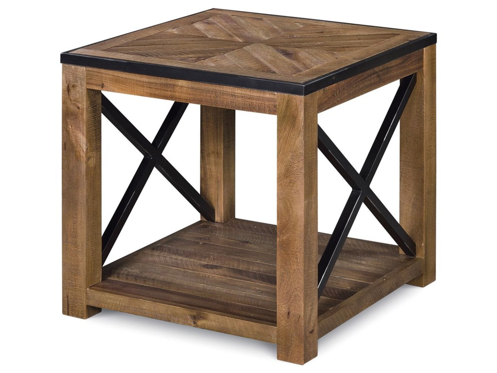 Magnussen Home  PendertonCocktail Table and End Table