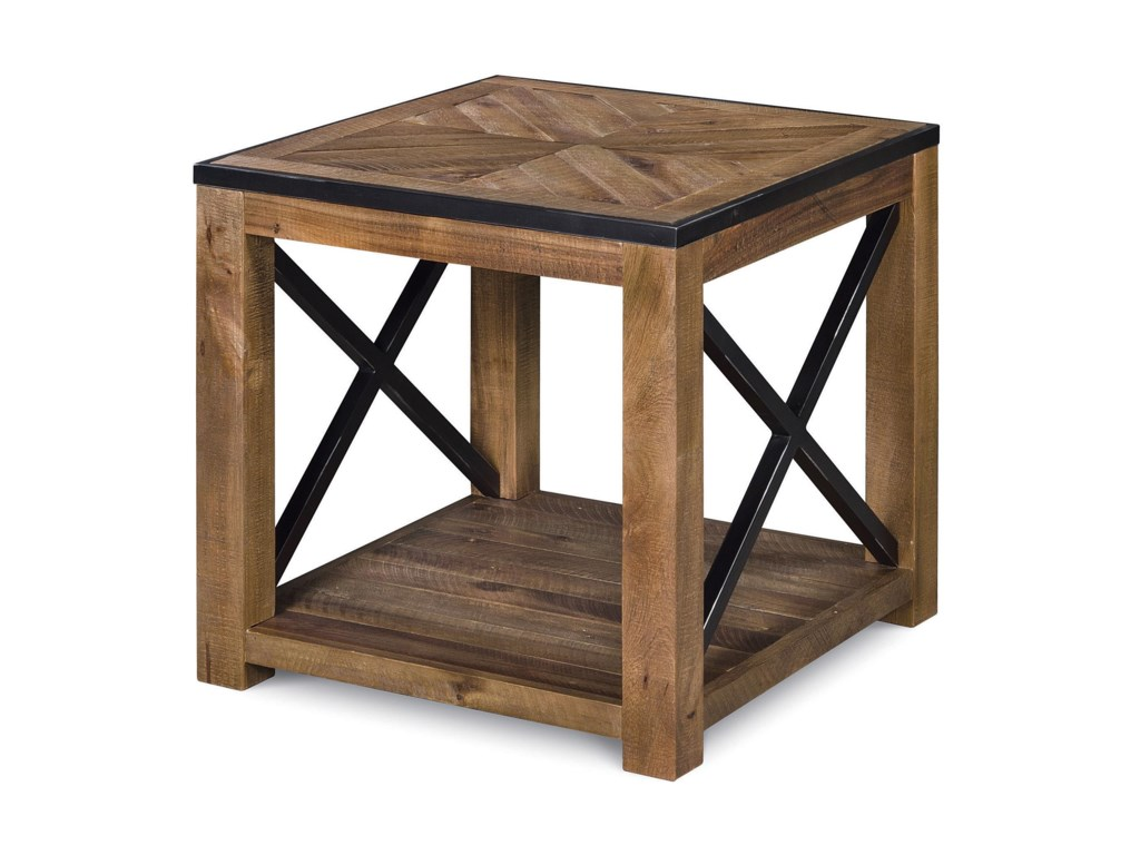 Magnussen Home  PendertonRectangular End Table
