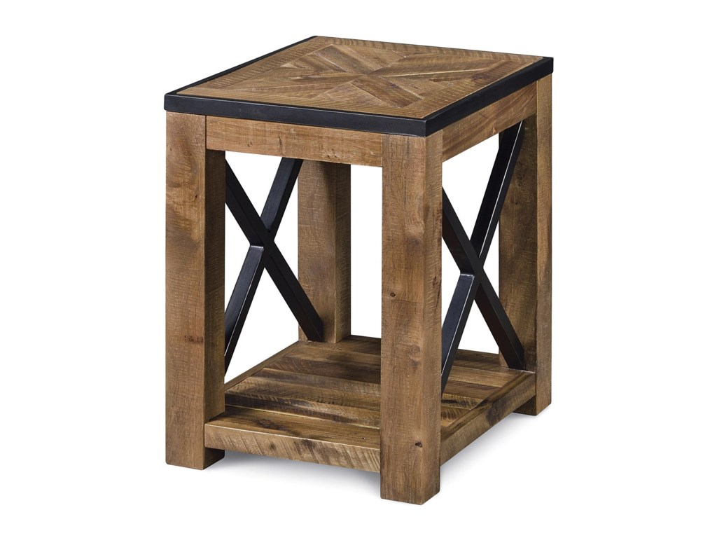 Magnussen Home  PendertonChairside End Table