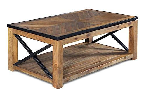 Magnussen Home  Penderton Rectangular Lift-top  Cocktail Table