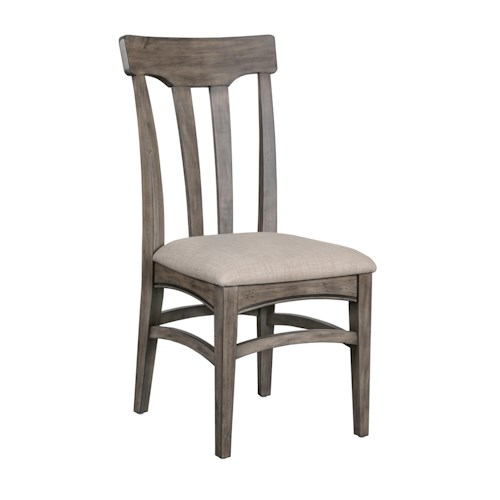 Magnussen Home  Walton Dining Chair with Upholstered Seat