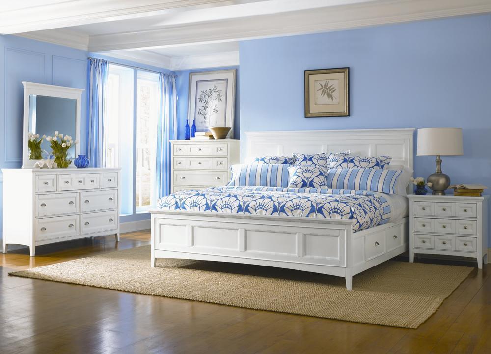 Beau Magnussen Home Kentwood4PC Queen Storage Bed Set