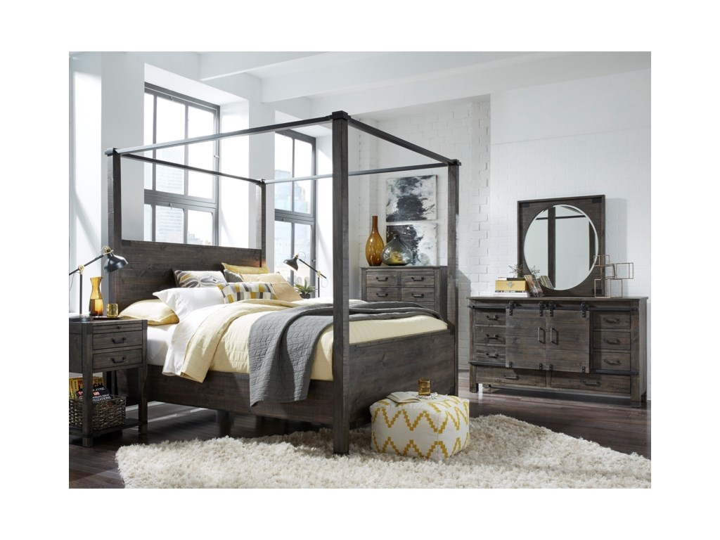 Magnussen Home AbingtonQueen Bedroom Group