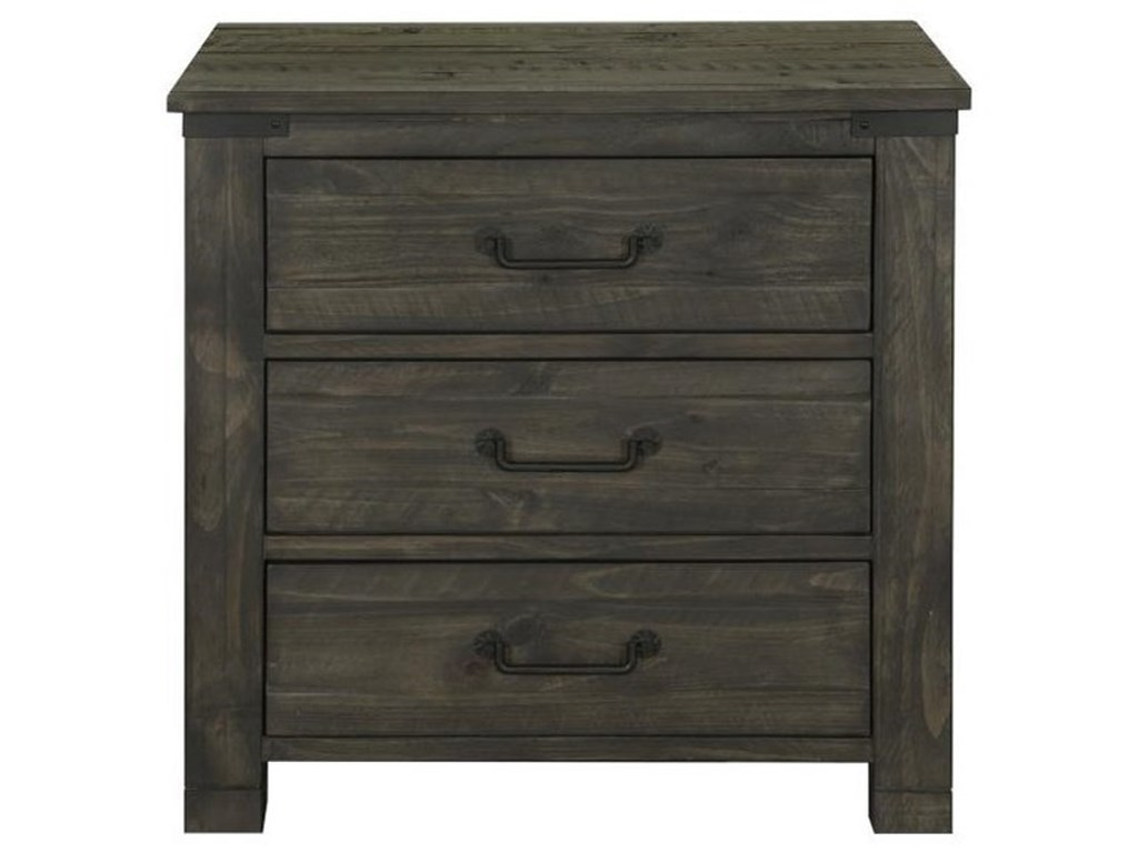 Magnussen Home Abington3 Drawer Nightstand