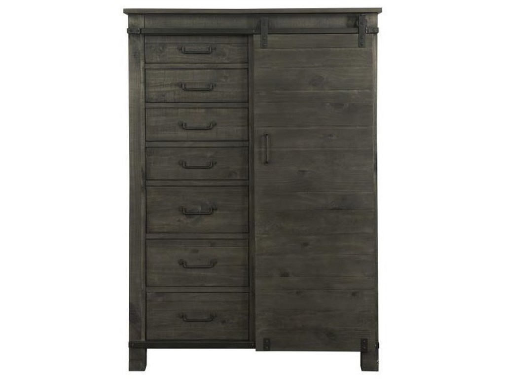 Magnussen Home Abington7 Drawer Door Chest